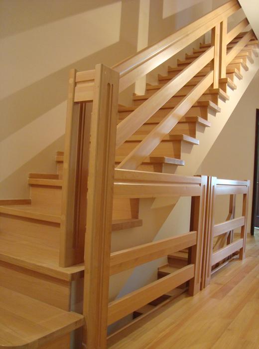 Деревянные лестница своими руками фото